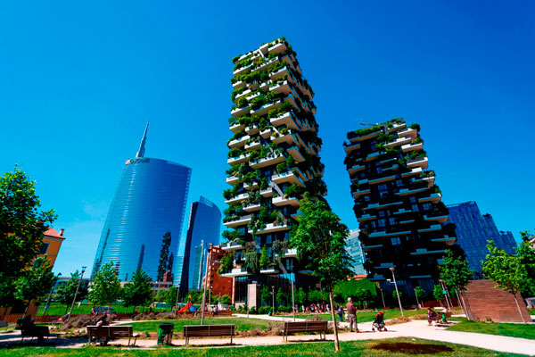 """Vertical forest"", Milan, Italy"